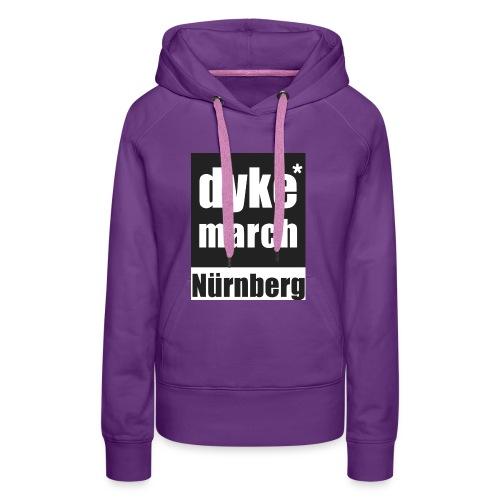 dyke*march Nürnberg - Frauen Premium Hoodie