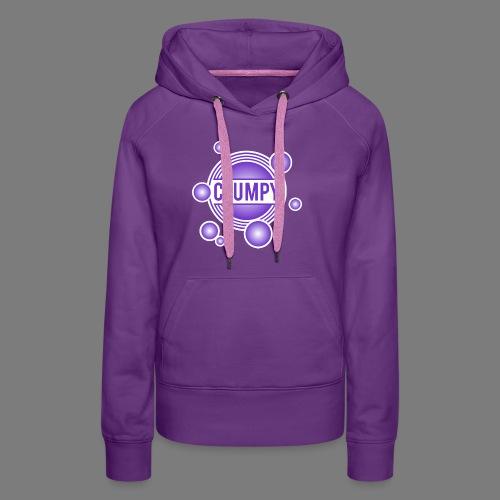 Clumpy halos violet - Women's Premium Hoodie