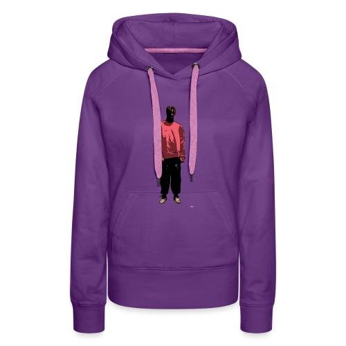 Streetwear Comic Character - Vrouwen Premium hoodie
