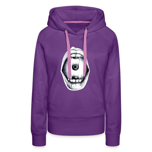 Roll the eye - Frauen Premium Hoodie