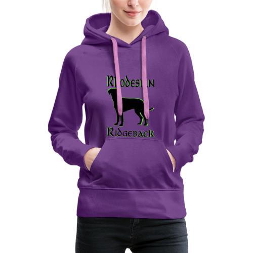 Hundekopf,Hundeliebhaber,Hundefreund,Ridgeback, - Frauen Premium Hoodie