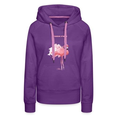 nelice think pink - Frauen Premium Hoodie