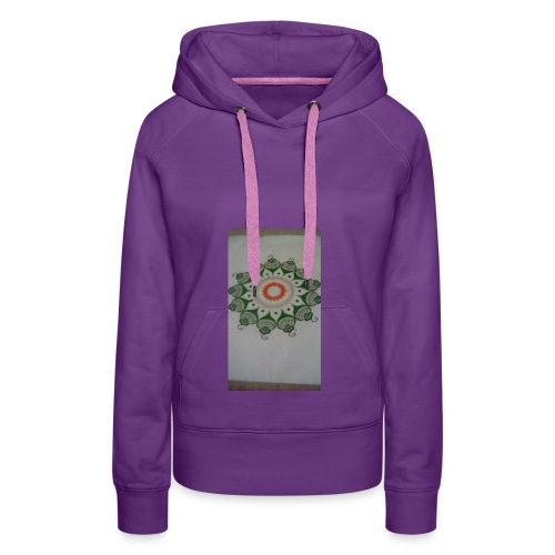 Freehand pattern by josef - Women's Premium Hoodie