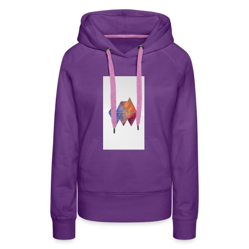 Colourful_Triangles - Frauen Premium Hoodie