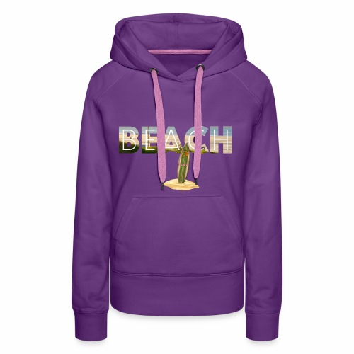 BEACH 1 - Frauen Premium Hoodie