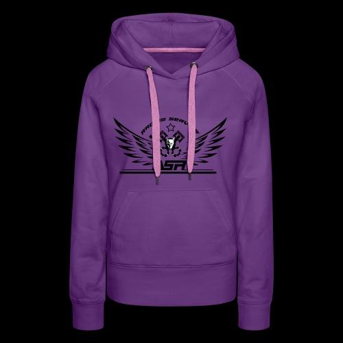 ASR ANGELS - Sweat-shirt à capuche Premium pour femmes
