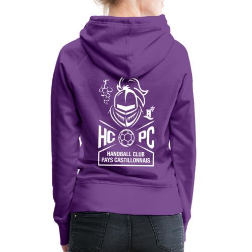 OFFICIEL HCPC - Sweat-shirt à capuche Premium pour femmes