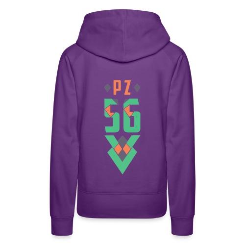 déco PZ MX5 CUP 2018 56 - Sweat-shirt à capuche Premium pour femmes