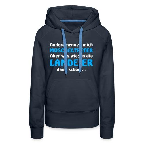 Rüganer vs. Landeier - Frauen Premium Hoodie