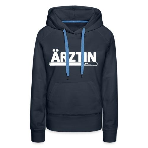 aerztin-white_sweat - Frauen Premium Hoodie