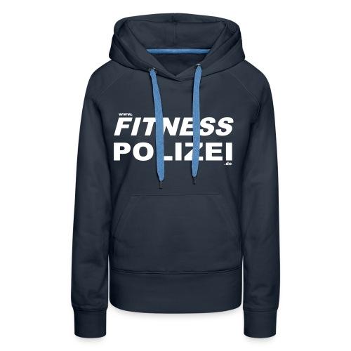 fitnesspolizeiweb - Frauen Premium Hoodie