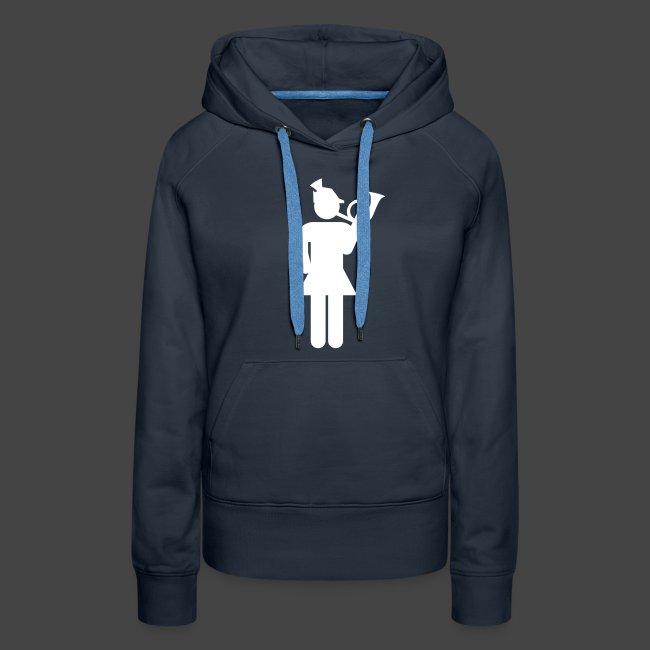 Jagdhornbläserin-Shirt