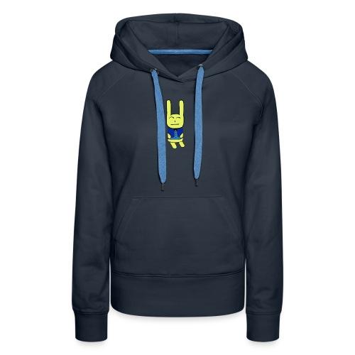 lapino costumé - Sweat-shirt à capuche Premium pour femmes
