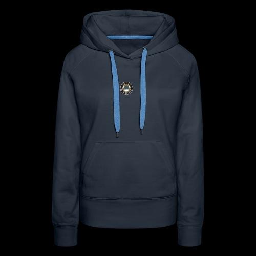 Tårnby FF logo - Dame Premium hættetrøje