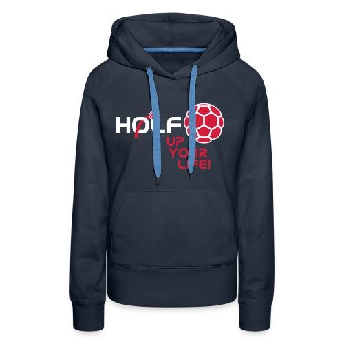 HOLF_T-Shirt_Vorlage_Logo - Frauen Premium Hoodie