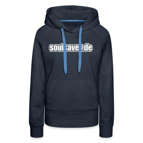 soulsaverlogo blackonly - Frauen Premium Hoodie