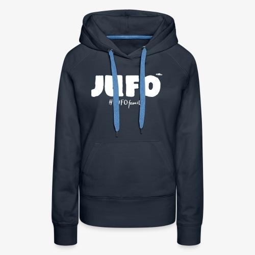 JufoFamily white - Frauen Premium Hoodie