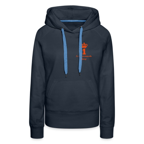 1e Hilversumsche Groep - Vrouwen Premium hoodie