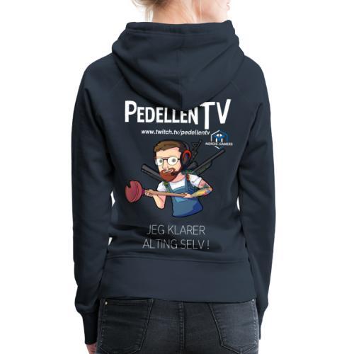 pedellentv - Dame Premium hættetrøje