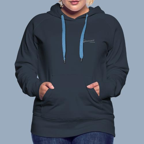 bUGbUs LOGO Typo + Mann - Frauen Premium Hoodie