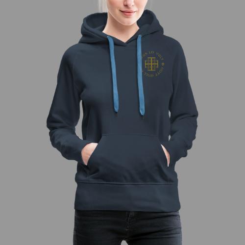 deus lo vult - Gott will es - Frauen Premium Hoodie