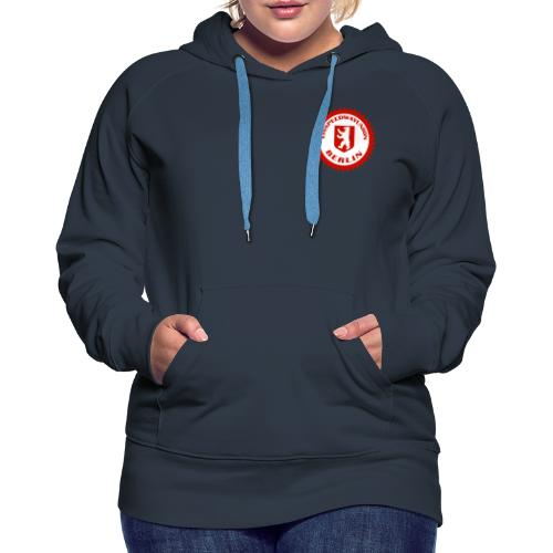 Logo in Rot Weiß - Frauen Premium Hoodie