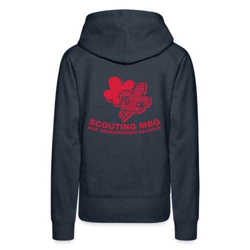 Leidingtrui - Vrouwen Premium hoodie