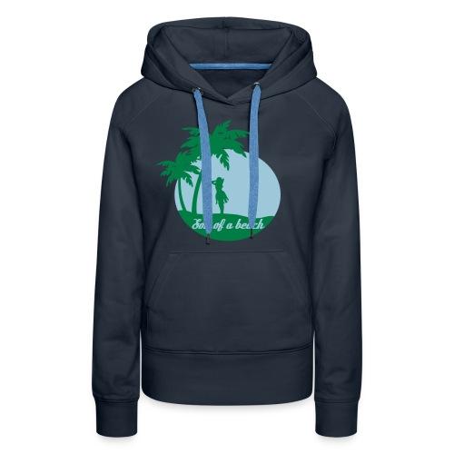 20110519 ytb shirt son blaugruen pfade - Frauen Premium Hoodie