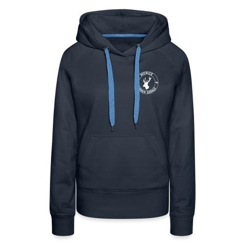 logo tampon norvège - Sweat-shirt à capuche Premium pour femmes