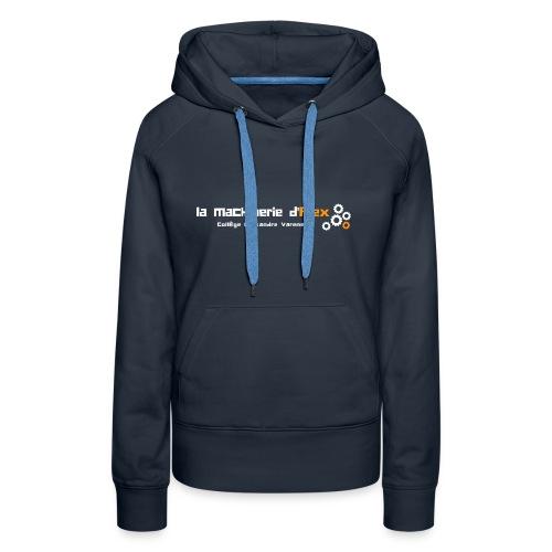 Maker - Sweat-shirt à capuche Premium pour femmes