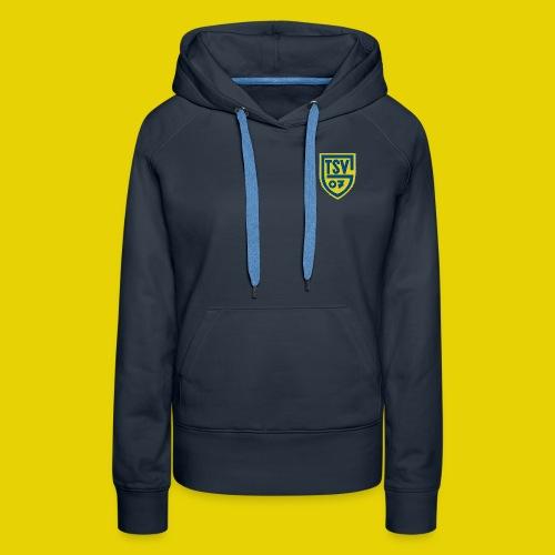 logo klein 700x896 - Frauen Premium Hoodie