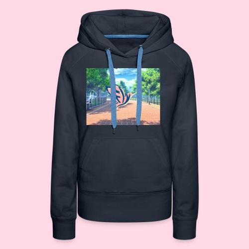 Logo FLY - Sweat-shirt à capuche Premium pour femmes