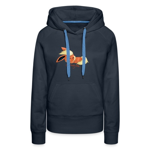 eevee - flareon - the sleppy one - Women's Premium Hoodie