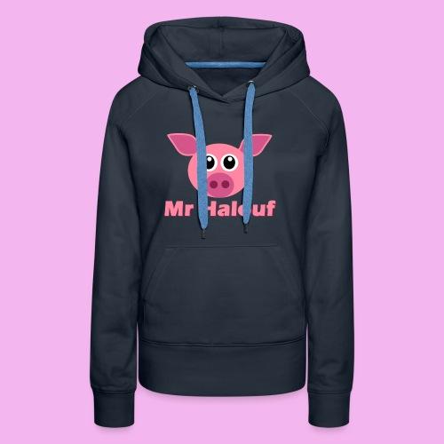 Mr Halouf - Sweat-shirt à capuche Premium pour femmes