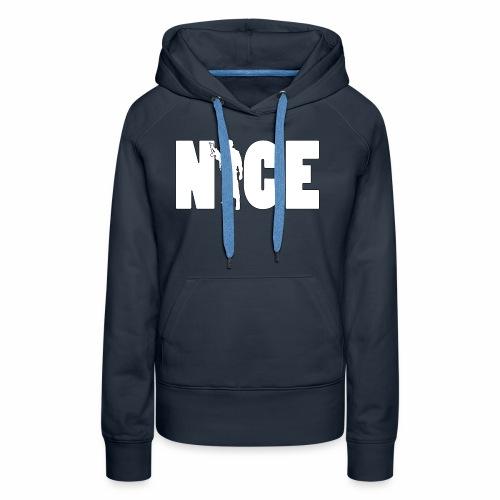 NICE Line - Frauen Premium Hoodie