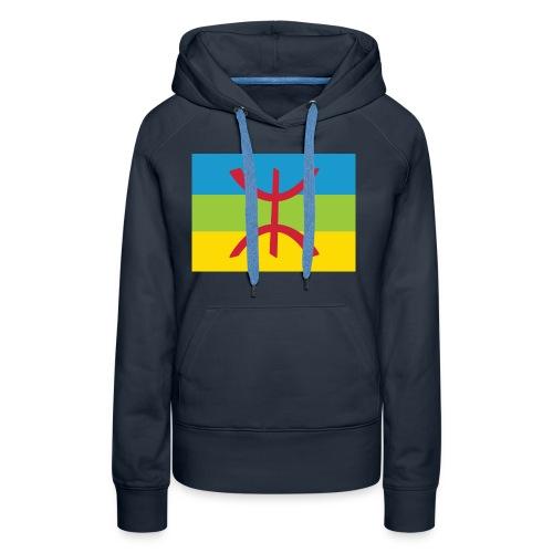 Amazigh Flag Clean - Vrouwen Premium hoodie