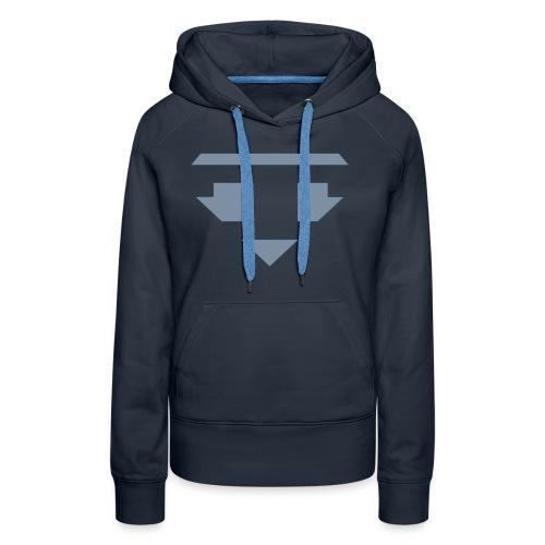 Twanneman logo Reverse - Vrouwen Premium hoodie