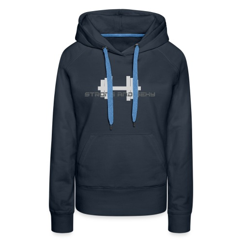 sasdumbell3 png - Vrouwen Premium hoodie