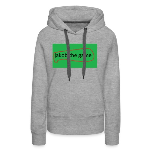 jakobthegame - Dame Premium hættetrøje