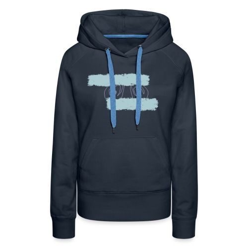 nieobcy domyślny - Bluza damska Premium z kapturem