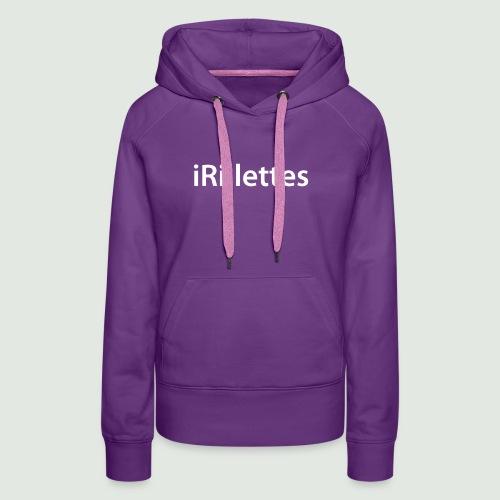 rillettes - Sweat-shirt à capuche Premium pour femmes