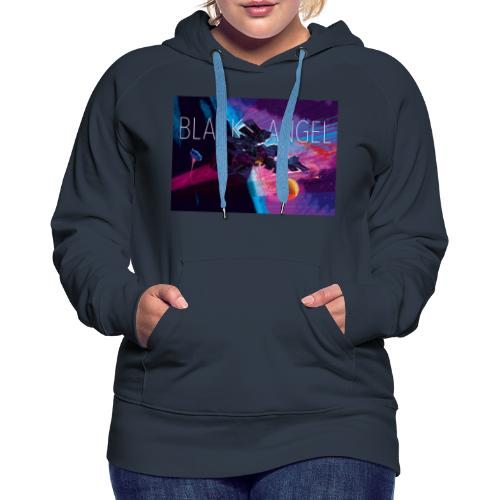 BLACK ANGEL COVER ART - Sweat-shirt à capuche Premium pour femmes