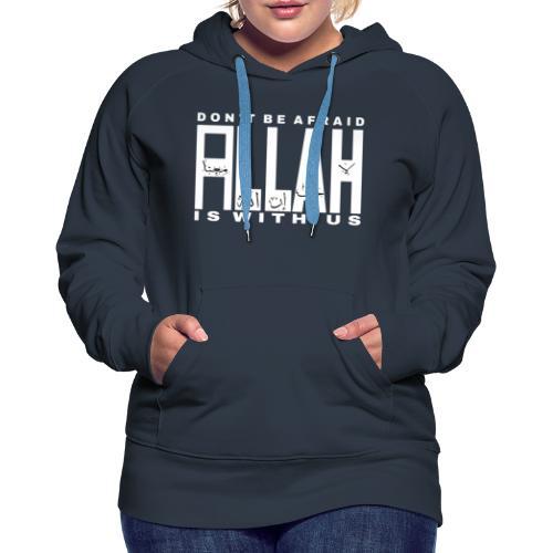 ALLAH - Sweat-shirt à capuche Premium pour femmes