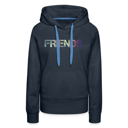 FRIENDS - Sudadera con capucha premium para mujer