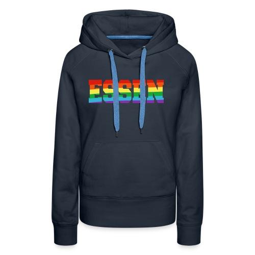 Essen Regenbogenfahne - Frauen Premium Hoodie