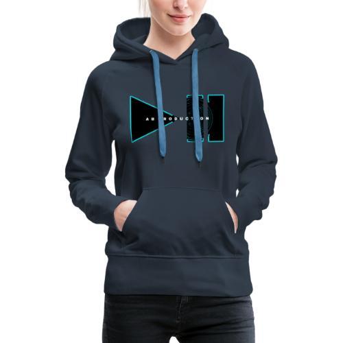 AB PRODUCTION - Sweat-shirt à capuche Premium pour femmes