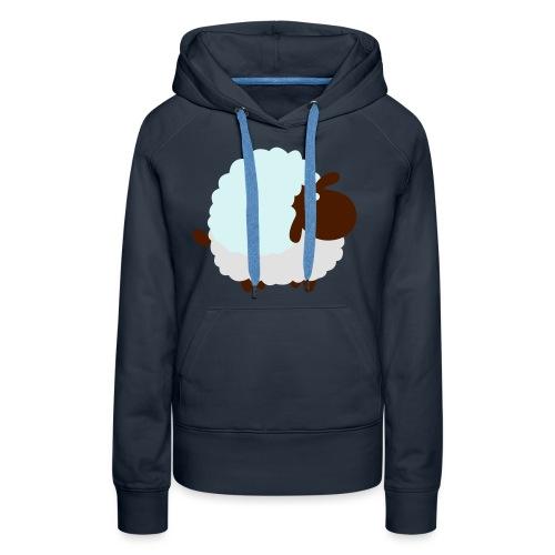 Mouton - Sweat-shirt à capuche Premium pour femmes