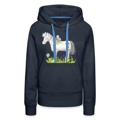 Fee. Das Pferd und die kleine Reiterin. - Frauen Premium Hoodie