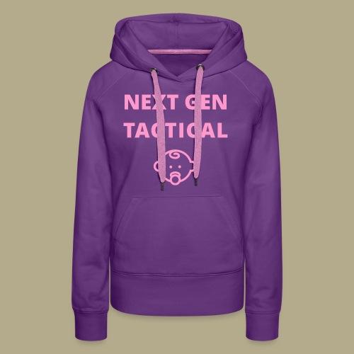 Tactical Baby Girl - Vrouwen Premium hoodie