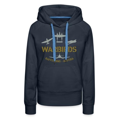 Kontrast-Shirt Warbirds Raffelding - Frauen Premium Hoodie